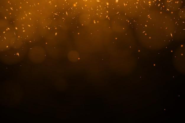 Brasas de queimadura de vetor vermelho