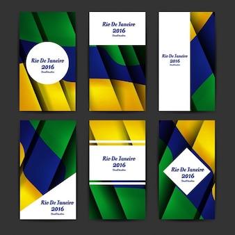 Brasil modelos de negócio cores