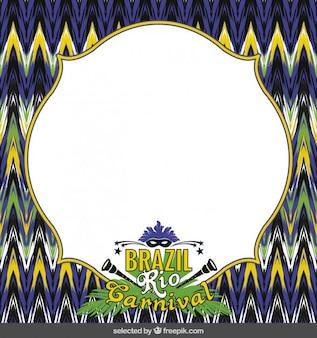 Brasil rio carnival quadro
