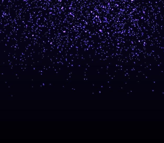 Brilha brilhando. partículas abstratas caindo.