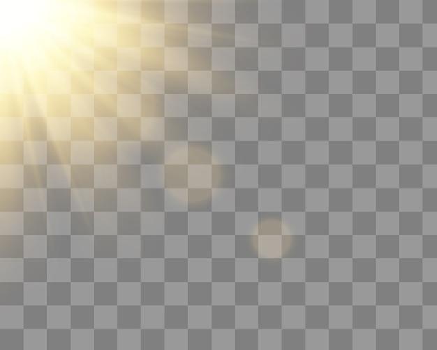 Brilhando sol dourado
