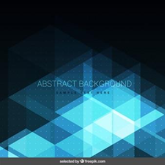 Brilhante escuro fundo abstrato azul