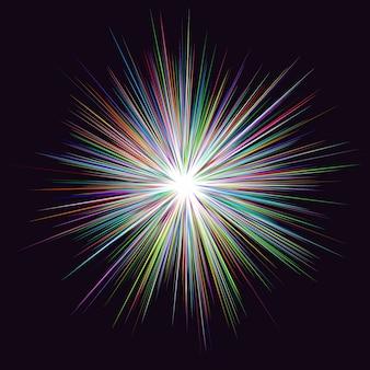 Brilhante, multicolor, fundo