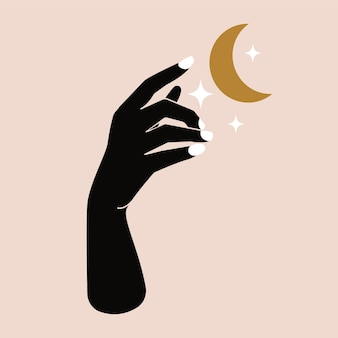 Brilho da lua boêmia