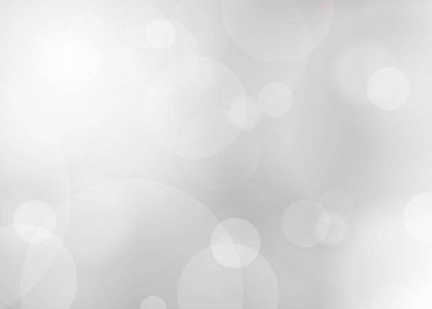 Brilho de prata abstrato blured fundo.