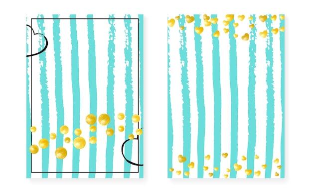 Brilho do casamento. efeito abstrato rosa. stripe party cover. folheto de férias branco. mint design. conjunto de ilustração de ano novo. revista elegante turquesa. golden wedding shimmer
