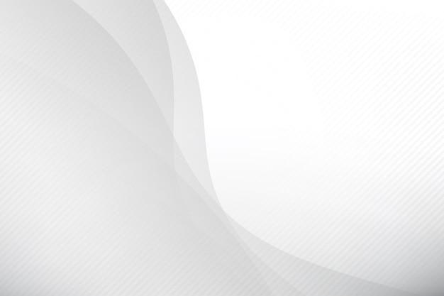 Brilho e camada da geometria do fundo cinza abstrato Vetor Premium