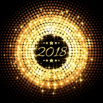 Brilho lindo brilhando 2018 ano novo festa fundo de celebração