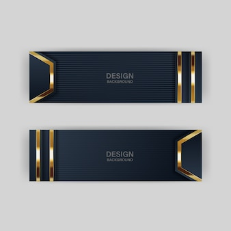 Brilho luz de fundo com cor abstrata tecnologia moderna banner ouro