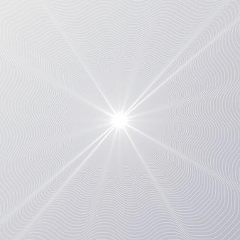 Brilho radial de linha