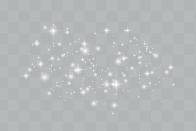 Brilhos de vetor. efeito de luz turva.