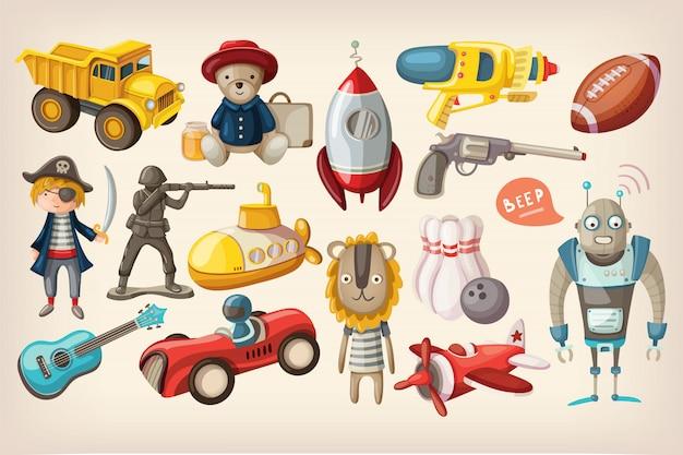 Brinquedos para brincar