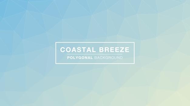 Brisa costeira poligonal