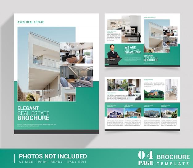 Brochura bi-fold imobiliária