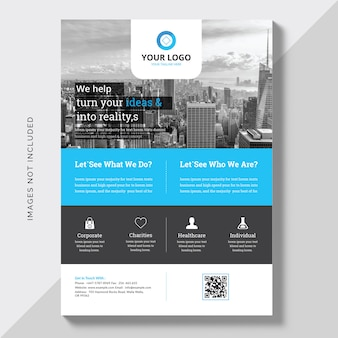 Brochura comercial comercial