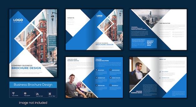 Brochura comercial moder