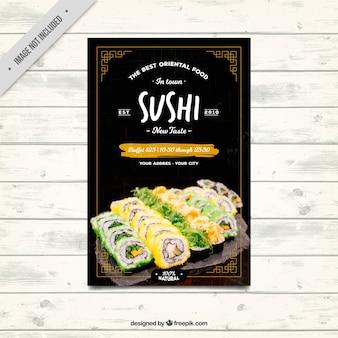 Brochura comida oriental