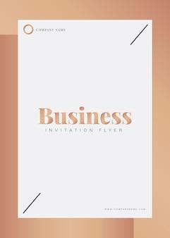 Brochura corporativa e modelo de cartaz
