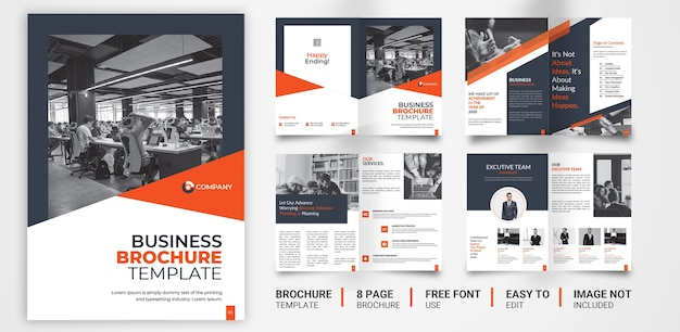 Brochura corporativa ou modelo de proposta
