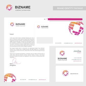 Brochura da empresa com design elegante