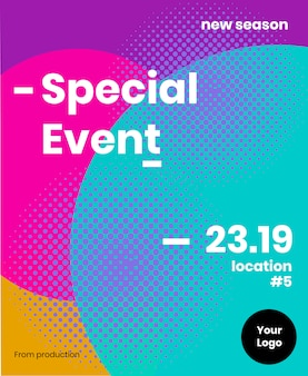Brochura de evento especial