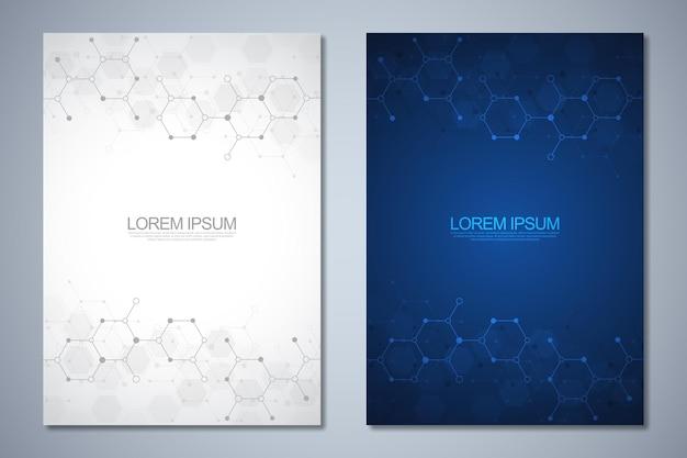 Brochura de modelo ou layout de página de livro de capa design de folheto