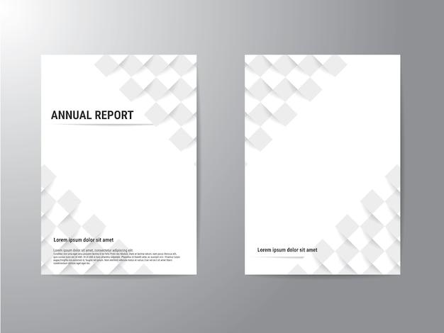 Brochura de negócios de capa de panfleto