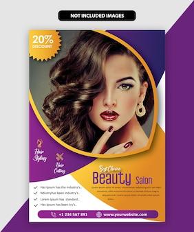 Brochura de salão