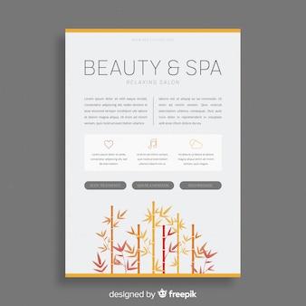 Brochura de spa
