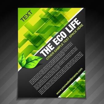 Brochura de vida ecológica