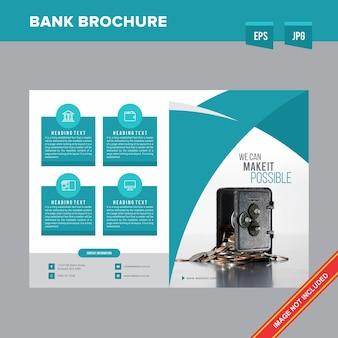 Brochura do banco corporativo