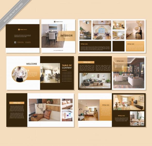 Brochura do livro interior