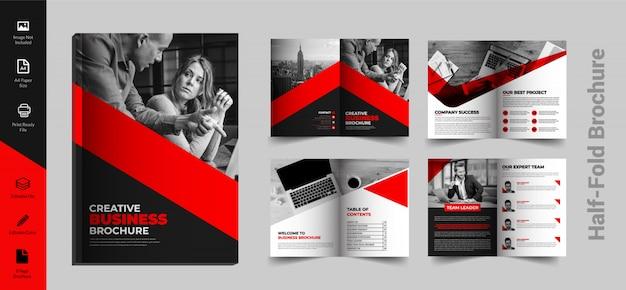 Brochura dobrada a4