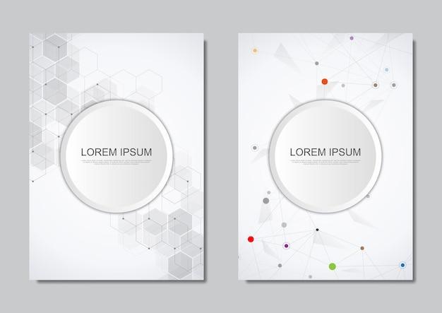 Brochura ou design da capa
