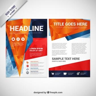 Brochura poligonal