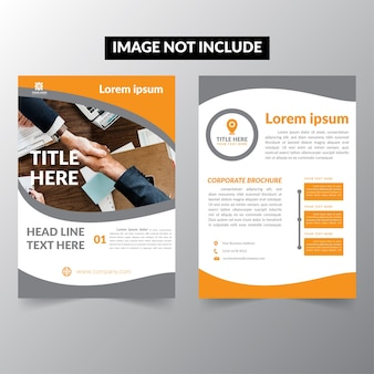 Brochure template business company