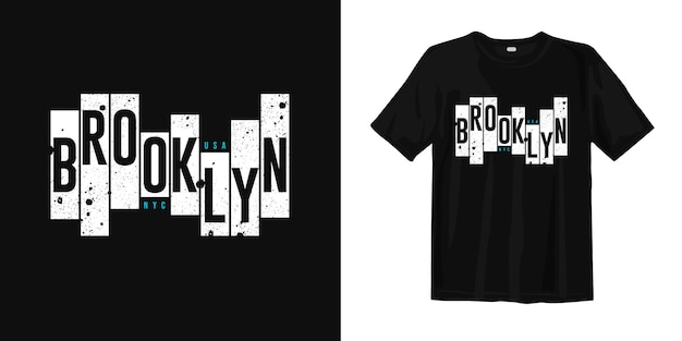 Brooklyn nyc, gráfico de desgaste de rua