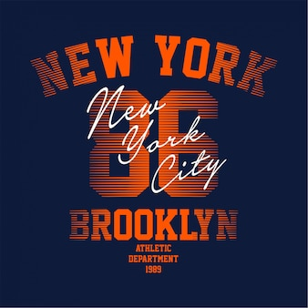 Brooklyn - t-shirt gráfico