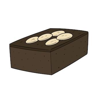 Brownie dos desenhos animados