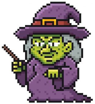 Bruxa dos desenhos animados