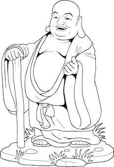 Buda dos desenhos animados