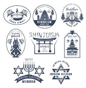 Budismo de ícones religiosos