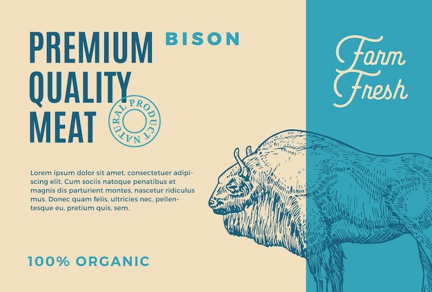 Búfalo de qualidade premium