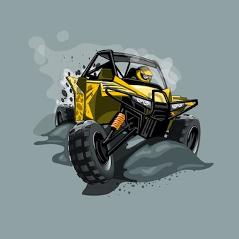 Buggy off-road atv