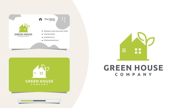 Building concept logo design e cartões de visita