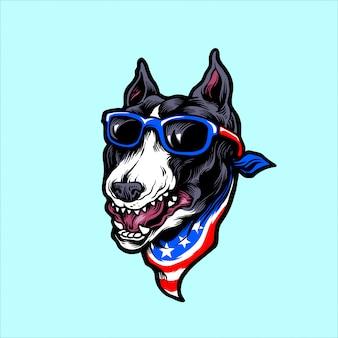 Bull terrier americano
