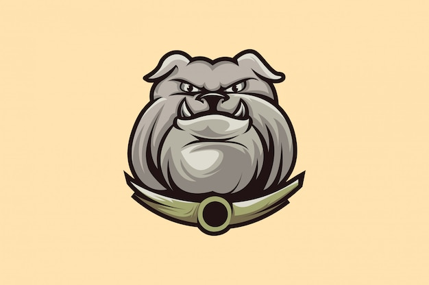 Bulldog logo sport