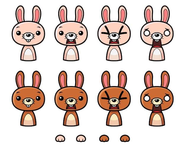 Bunny game sprites