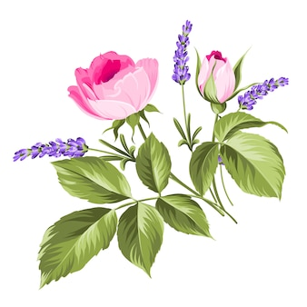 Buquê de flores do casamento