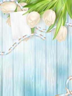 Buquê de tulipas lindas.